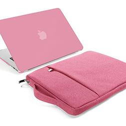 GMYLE 2 in 1 Bundle Pink Set Soft-Touch Matte Plastic Hard C