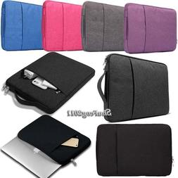 """For 10"""" 11"""" 13"""" 14"""" Tablet Laptop Notebook Sleeve Case Pouch"""
