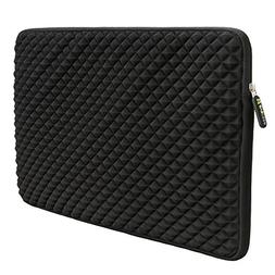 12.9-14 Inch Laptop/Tablet Sleeve Evecase Diamond Foam Splas