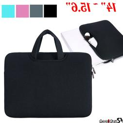 """14""""/15.6"""" Laptop Case Bag Sleeve with Handle for Macbook Air"""