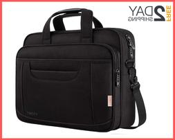 15.6 Inch Laptop Bag Business Office Briefcase Multi-Functio