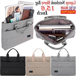 "15.6"" inch Laptop Hand Case Sleeve Bag For DELL Sony Acer As"