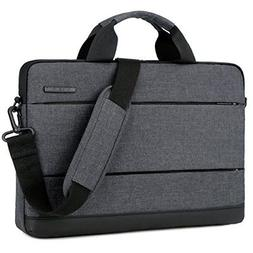 BRINCH 15.6 Inch Laptop Shoulder Bag Classic Lightweight Sli