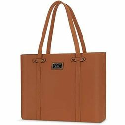 MOSISO 15.6 Inch Laptop Tote Bag Women With Durable Handle,