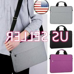 Shockproof Laptop Sleeve Handbag Notebook Shoulder Bag US Co