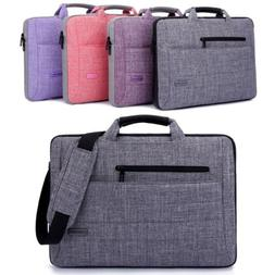 "15.6"" Laptop Bag Messenger Carry Case Shoulder Strap Briefca"