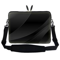 "15""- 15.6"" Laptop Computer Sleeve Bag w Hidden Handle & Shou"