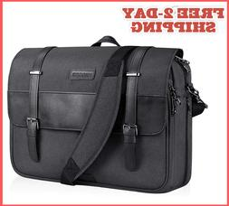 15.6Inch Laptop Travel Bag Briefcases Water Resistant, RFID