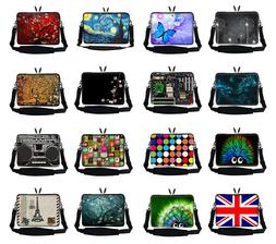 15 inch to15.6inch Colorful Laptop Computer Bag w Hidden Han