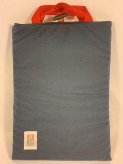 """Topo Designs 15"""" Laptop Tablet Bag Case Sleeve Navy/Red/Yell"""