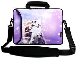 "AUPET 9.7"" 10"" 10.1"" 10.2"" Inch Neoprene Laptop Bag with Ext"