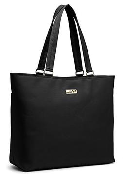 NNEE 15 15.6 Inch Water Resistance Nylon Laptop Tote Bag Com