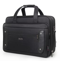 16 inch mens black oxford briefcases bag