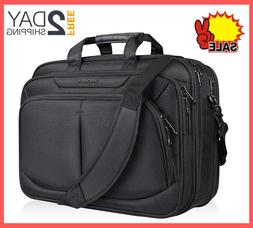 17.1 inch Laptop Bag Briefcase Water-Repellent, Expandable f