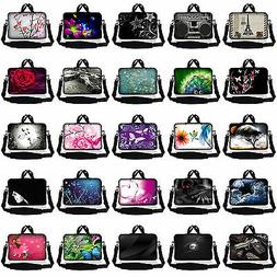 """17.3"""" 17.4 LAPTOP NOTEBOOK SLEEVE BAG CASE POUCH W HANDLE& S"""