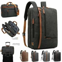 Brinch 17.3 inch Convertible Laptop Backpack Messenger Bag S