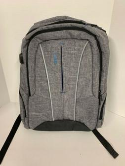 DTBG 17 Inch Laptop Backpack with USB Charging Port Anti-the
