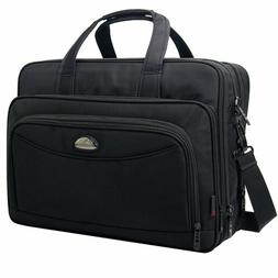 17 Inch Laptop Bag, Expandable Large Capacity Business Brief