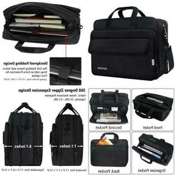 17 Inch Laptop Bag, Large Briefcase For Men Women, Expandabl