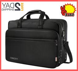 17 Inch Laptop Travel Bag Briefcases Water Resistant with Or