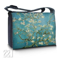 """LSS 17"""" 17.3 inch Laptop Padded Compartment Shoulder Messe"""