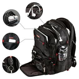 Extra Large TSA Friendly Durable Travel Backpack Anti-Theft