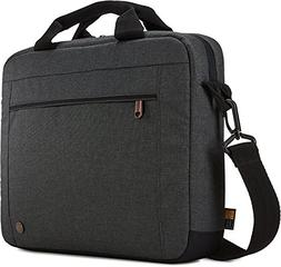 "Case Logic 3203693 Era 11.6"" Laptop Attaché, Obsidian"