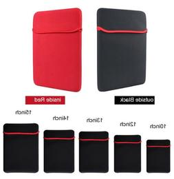 """7""""-17"""" Inch Soft Neoprene Sleeve Pouch Bag Case For Tablet L"""