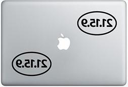 21-15-9 Crossfit FlashDecals0996 Set Of Two  , Decal , Stick