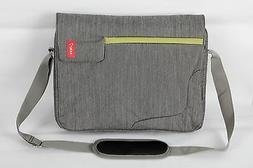 Bipra 15.6 Inch Laptop Bag with Shoulder Strap Grey with Gre