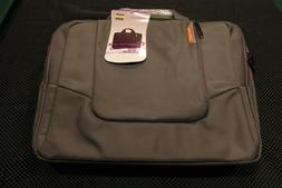 "Brinch 15.6"" Nylon Waterproof Laptop Messenger Bag Gray"