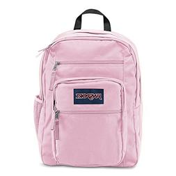 Girls Backpack In Pink Mist Large Size Bookbag For High Midd