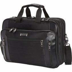 Kenneth Cole An Easy Decision Polyester Laptop Bag in Black