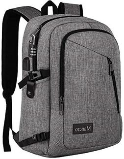 Laptop Backpack Travel Computer Bag AntiTheft  Water Resista