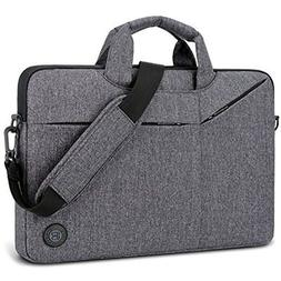 Laptop Bag,BRINCH Slim Water Resistant Messenger Portable Sl