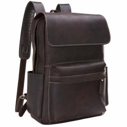 "Lifewit 15"" Vintage Leather Backpack Laptop Bag for Women Of"