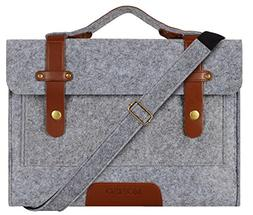 Mosiso Felt Laptop Shoulder Bag for 13-13.3 inch MacBook Pro