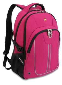 Swiss Gear SA3192 Pink with Black Laptop Backpack - Fits Mos