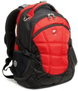 Swiss Gear SA9769 Red Laptop Backpack - Fits Most 15 Inch La