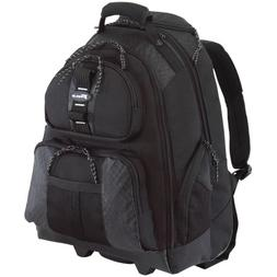 Targus Rolling Backpack Case for 15.4-Inch Laptops, Black