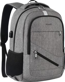 Travel Laptop Backpack, Mancro Anti Theft Durable College Sc