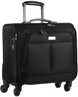 AirTraveler Rolling Briefcase 4 Wheels Rolling Laptop Bag Co