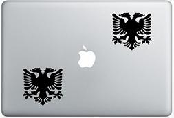 Albanian Eagle FlashDecals0936 Set Of Two  , Decal , Sticker