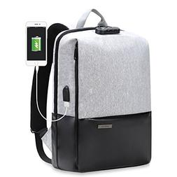 Travel Anti Theft Laptop Backpack for Women & Men, Water Res