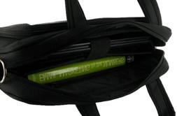 rooCASE Deluxe 13.3-Inch Netbook Carrying Bag - Black