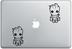 Baby Groot LeporeDecals4047 Set Of Two  , Decal , Sticker ,