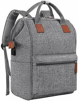 Backpack for Women, 15.6 Inch Laptop Backpack With USB Charg