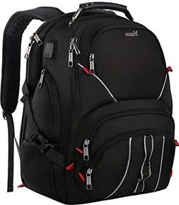 Extra Large Backpack,17inch Laptop Backpack with Luggage Sle