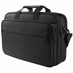 KROSER Briefcases 17&quot Laptop Bag Fits Up 16 Inch Water-R