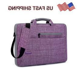 BRINCH Laptop Bag Portable Fabric Sleeve for Tablet Notebook